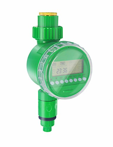 irrigatore automatico timer irrigazione, kimood temporizzatore irrigazione timer di irrigazione elettronico, irrigatore giardino automatico, timer irrigazione giardino prato