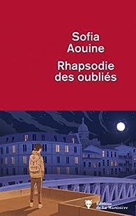 Rhapsodie des oubliés par Sofia Aouine