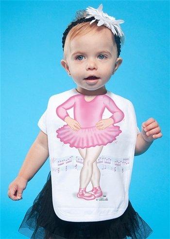 Quality Bib Fancy Dress Ballerina Pink Girl Baby Gift (Fancy Dress Ideen Childrens)