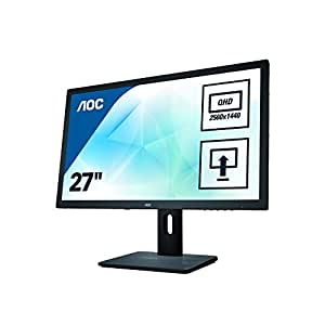 AOC Pro-Line Q2775PQU 27-Inch 2560 x 1440 QHD LED Monitor - Black