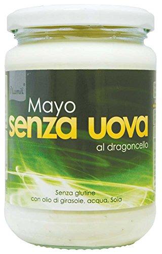 Plamil - Mayo al Dragoncello, senza Uova, Confezione da 6 (6 x 315 g)