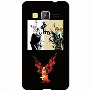 Printland Designer Back Cover for Samsung Galaxy Core Prime Case Cover