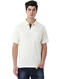 Classic Polo Off White Polo T-shirt For Men