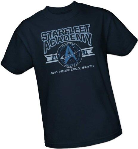 Star Trek-jugend-t-shirt (Cadet Athletic Insignia -- Starfleet Academy -- Star Trek Jugend (Youth) T-Shirt, Jugend (Youth) XL)