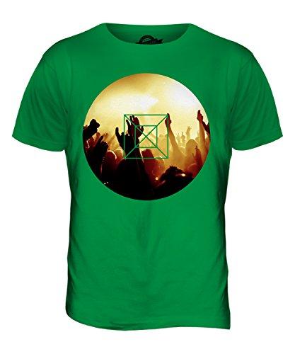 CandyMix Musik Konzert Herren T Shirt Grün