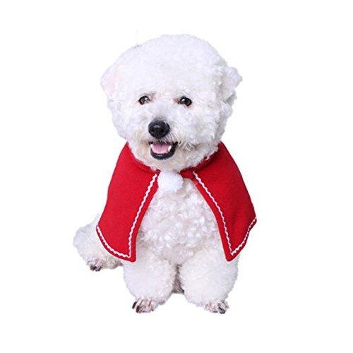 Imagen de bello luna pet christmas cloak christmas gifts collection disfraz de mascota