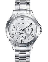 661ededef76f Viceroy Reloj Analógico para Hombre de Cuarzo con Correa en Acero  Inoxidable 47895-03