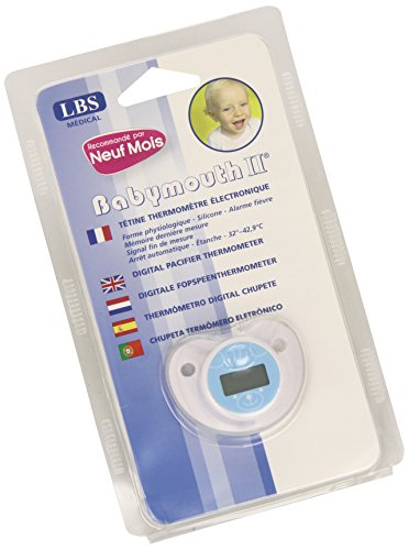 Thermomètre sucette / tétine électronique - Babymouth LBS Medical