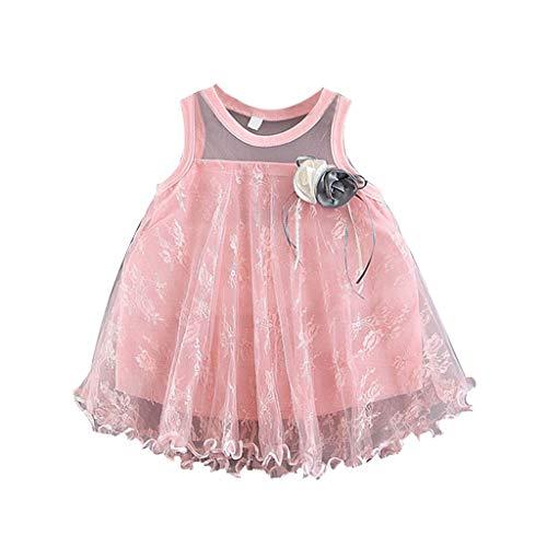 stliche Kinderkleider Party Geburtstag Hochzeit für Kleiner Mädchen Kinder Knielang ()