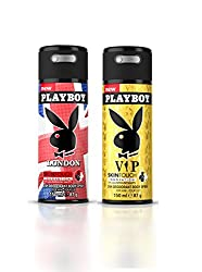 Playboy (Landon + Vip) Men Deo Pack Of 2