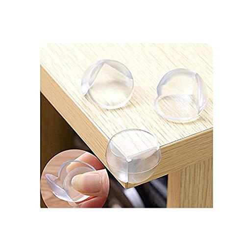 Ruitx Eckenschutz, 12 Stück, Transparente Kugel, Anti-Kollisions-Winkel, Tisch- und Möbel-Eckenschutz, transparent, kindersicher, Eckenschutz - Edge Kindersicher