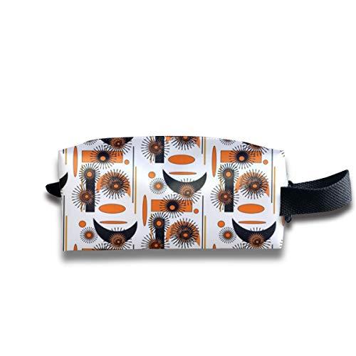 ATOMIC HALLOWEEN_11425 Tragbare Reise-Make-up-Kosmetiktaschen Organizer Multifunktionskoffer Taschen für Unisex