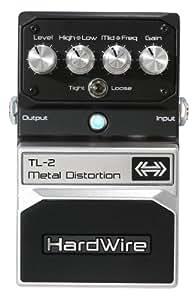Digitech Hardwire TL-2 Metal Distortion Pédale de distorsion