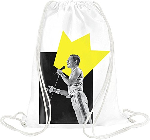 Legendary UK Rock Musician Drawstring bag (Living Legends Poster)
