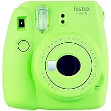 Fujifilm Instax Mini 9 - Cámara instantánea, color lime green