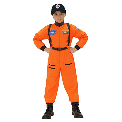Kostüm Sport Ideen Motto Party (Widmann 11017 - Kinderkostüm Astronaut, Overall,)