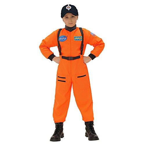 Astronaut Orange Kostüm Kinder (Widmann 11016 - Kinderkostüm Astronaut, Overall,)