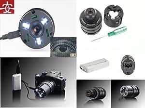 Zonman ® Japon Yasuhara Nanoha objectifs 4 x 5 x Macro Super objectif pour Panasonic 3 M 4 pour appareil photo numérique Olympus sans miroir avec système Micro Four Thirds M4/3, Olympus Om-d E-m5 E-pl3 PEN E-pm1 et E-pm2 E-pl5 E-p3
