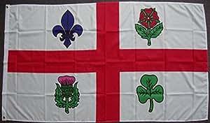 Flagge Fahne Montreal, ca. 90 x 150 cm