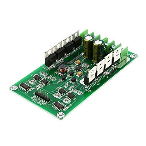 Motortreiberplatine (Nicht enthalten die Terminals und Schrauben, 3V 36V Dual Motor Treiberplatine Modul H Brücke DC MOSFET IRF3205 15A Spitze 30A Drehzahlregler Dual High Power Treiber