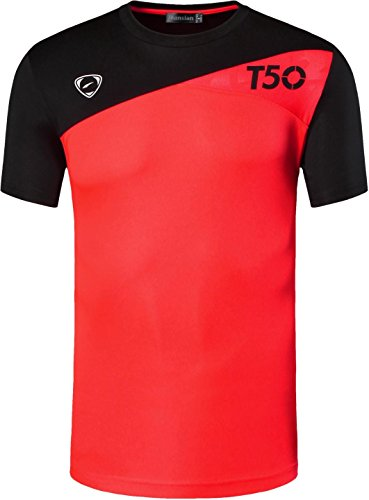 jeansian Herren Sportswear Quick Dry Short Sleeve T-Shirt LSL3225 LSL131Orange