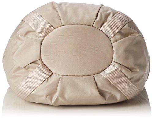 Bogner Damen Basket Schultertasche, 21 x 27 x 37 cm Beige (shell)