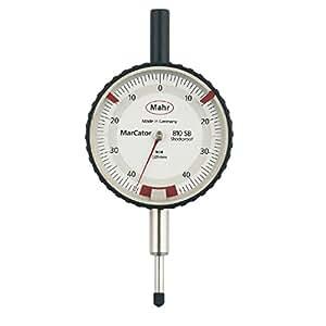 Mahr comparateur analogique à chocs marCartor 810 sB monté :  0,8 mm (±0,4), précision :  0,01 mm-poids :  290 g