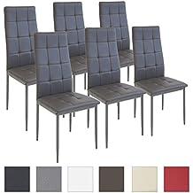 suchergebnis auf f r 6 esszimmer st hle modern. Black Bedroom Furniture Sets. Home Design Ideas
