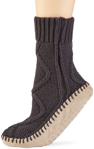 ELBEO Damen Socken 933345 / Hüttenschuh, Gr. 40/41, Grau (grau 9410)