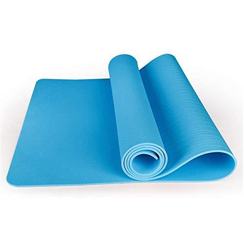 XUMI Yoga-Matte, Yoga-Matten Anti-Rutsch-Decke TPE Gymnastische Sport Gesundheit Gewicht Verlieren Fitness-Übungs-Pad Frauen Sport-Yoga-Matten 185cm * 80cm