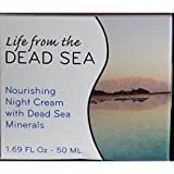 Crystal Line, Health & Beauty Life From the Dead Sea Nourishing Night Cream with Dead Sea Minerals 1. 69 Fl Oz.
