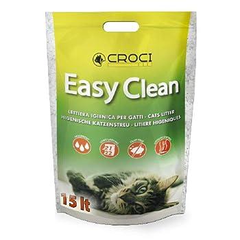 Croci Litière en Silicone Easy Clean 15 Lt pour Chat