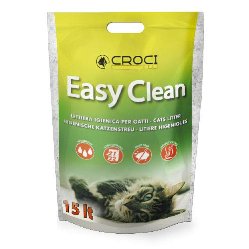 Croci C4025778 Easy Clean Lettiera al Silicio 15 Lt