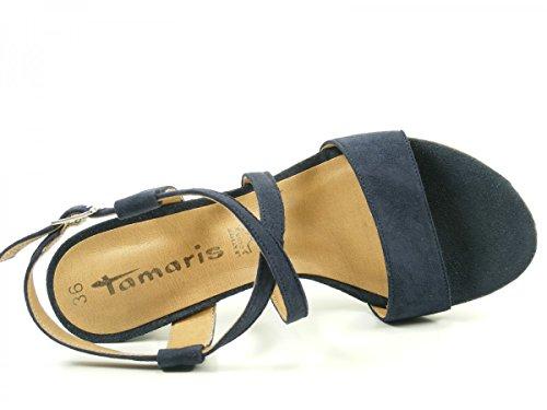 Blau Da Sandalette Da Tamaris Tamaris Sandalette Blau xUHBO4