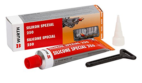 Würth Sealing Silicone Special 250–Black–70ml Tube