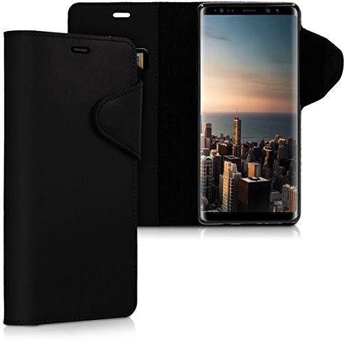 kalibri Samsung Galaxy Note 8 DUOS Hülle - Leder Handyhülle für Samsung Galaxy Note 8 DUOS - Handy Wallet Case Cover