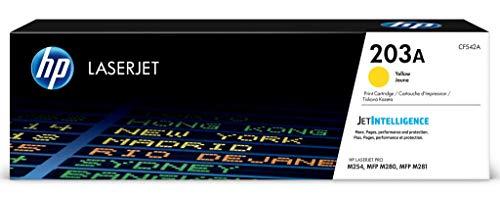 HP 203A (CF542A) Original Toner (für HP LaserJet Pro M254, HP LaserJet Pro M280, HP LaserJet Pro M281) gelb -