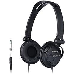 Sony MDR-V150B Casque DJ - Noir
