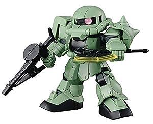 Bandai Hobby BAN230353 Bandai SDGCS 04 Cross Silhouette Zaku II - Traje móvil para Gundam, Color Blanco