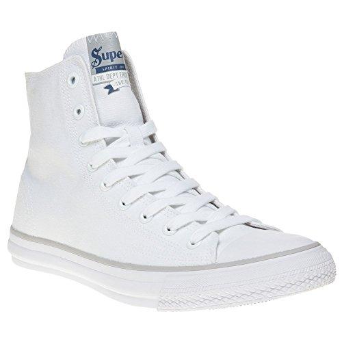 Superdry Trophy Series High Uomo Sneaker Bianco