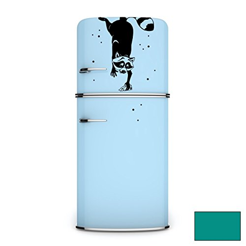 wall-sticker-fridge-stickers-wall-stickers-sticker-raccoon-polka-m1960-turquoise-xxl-44cm-breit-x-60