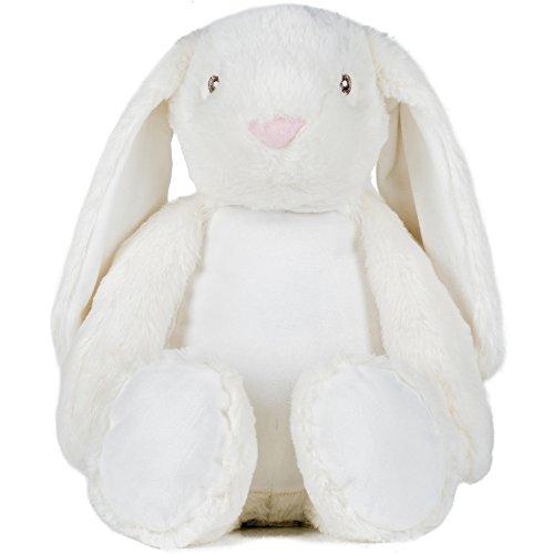 Mumbles Kinder / Kinder Zippie Bunny Soft Plüschtier - Cream - L - Plüschtiere Soft-plüsch