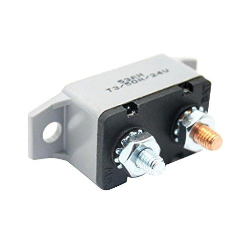 IPOTCH 1 Stk. 12V Auto Automatische Reset-schutzschalter Sicherung, Ersatz Schalter - als bild - 50a (Bus Sicherung 12v)