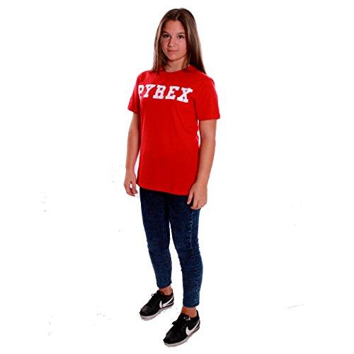 T-SHIRT DONNA NERA PYREX NUOVA COLLEZIONE A/I 17/18 Rosso
