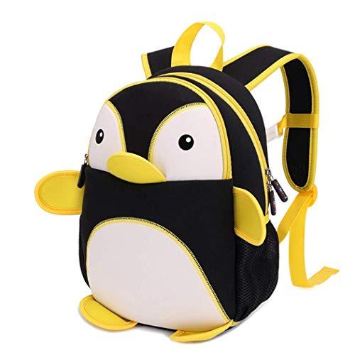 Lounayy Zaino Per Bambini Zaino Per Scuola Zaino Per Scuola Materna Pinguino Con Moda Bambini Zaino Modello Zaino E Uomini Ragazzi Dk Anni 3-8 (Color : Blau, Size : One Size)