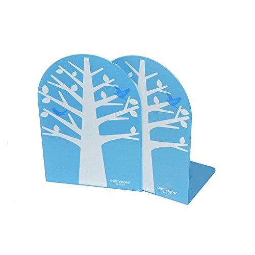 JIN PING Beautiful Homes® Estantería, carpeta de libros de metal color árbol de dibujos animados estudiantes acabado estante precio de 8 pulgadas