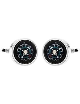 TEROON Manschettenknöpfe Kompass 609744