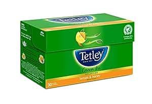 Tetley Green Tea, Lemon & Honey, 30 Tea Bags