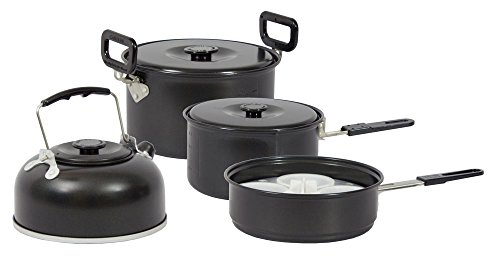Vango Koch Set Chef Non Stick Family, Black, ACXCOOK 009U19