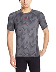 Under Armour Ua Hg Armour Printed Ss Chemise à Manches Courtes Homme